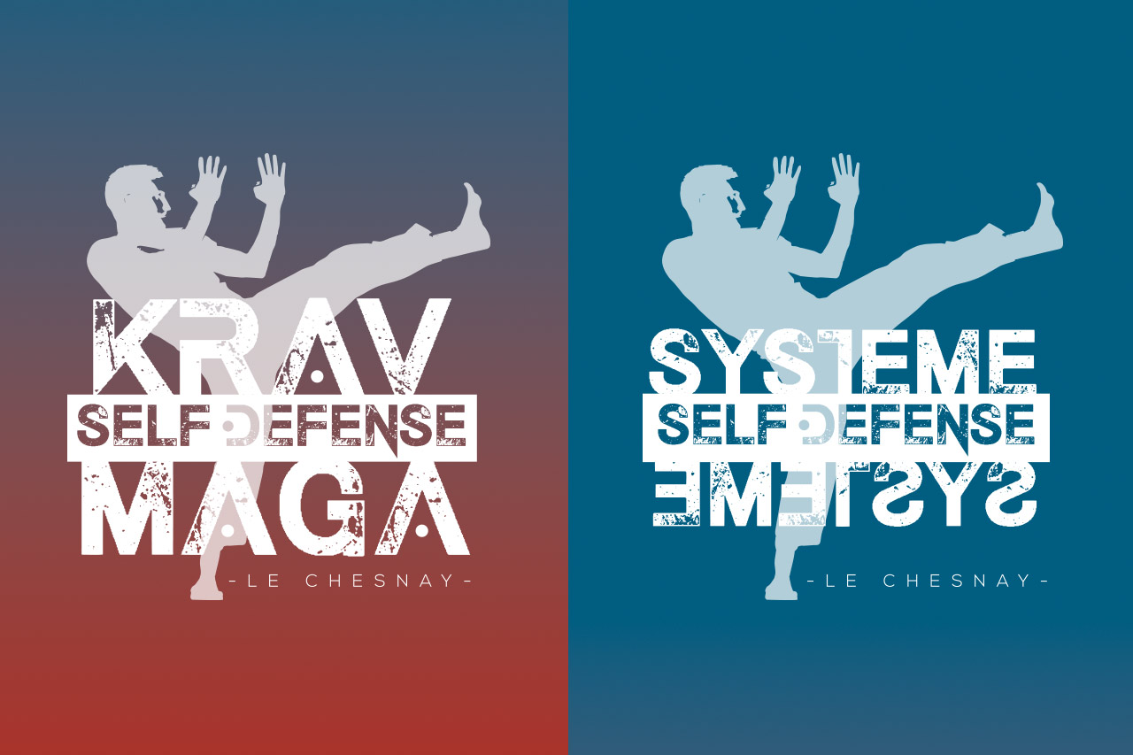 Logos Krav Maga et Self Défense Le Chesnay